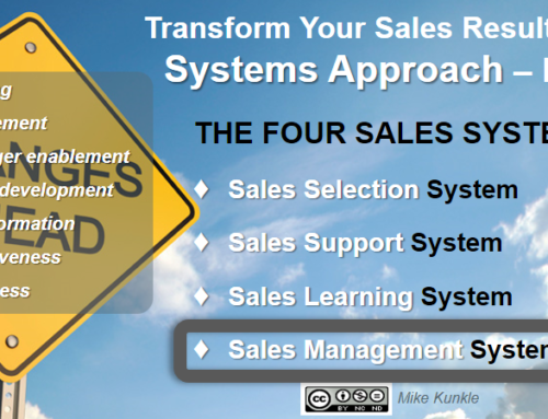 Mike Kunkle, Transform Your Sales Results – Part 5, Sales Management