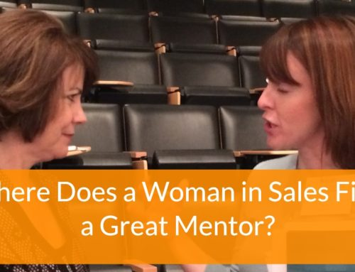 Where Does a Woman in Sales Find a Great Mentor?