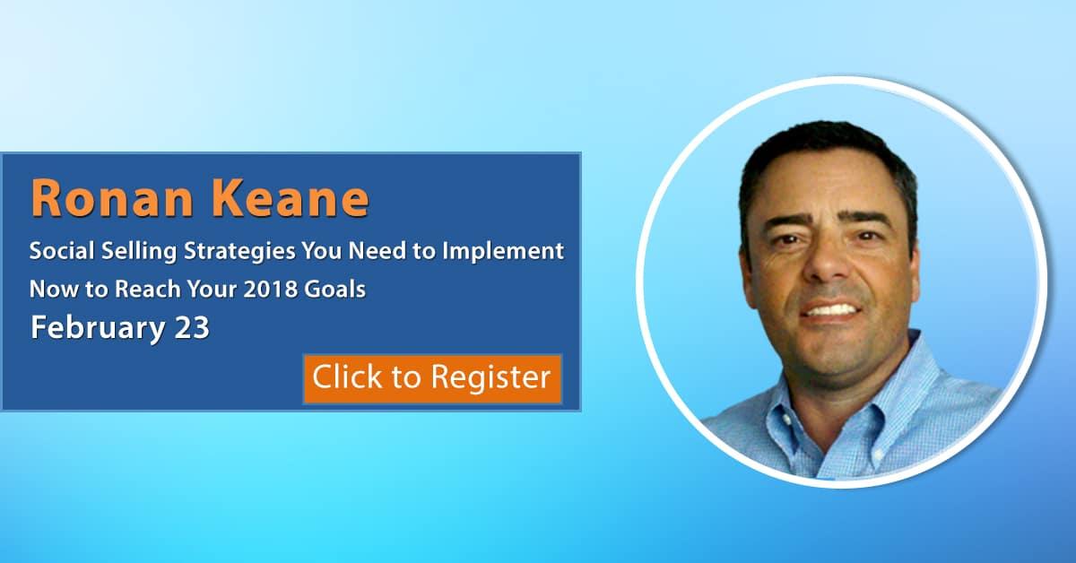 Ronan Keane 2018 Program, 022318