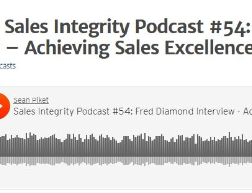 IES Executive Director Fred Diamond Appears on Sales Integrity Podcast #54