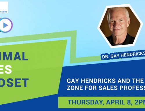IES Announces Dr. Gay Hendricks to Appear on Optimal Sales Mindset Webcast on April 8