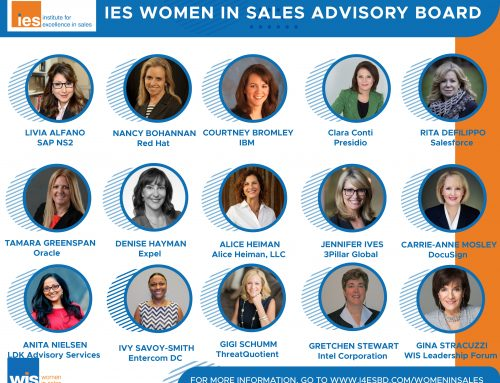 Institute for Excellence in Sales Announces New Advisory Board to Complement World-Class Women in Sales Leadership Programs
