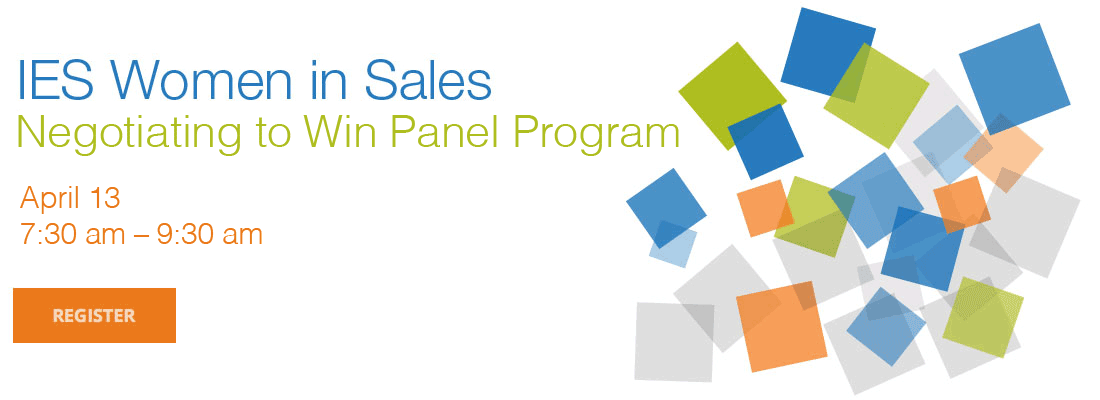 IES Women in Sales: Negotiating to Win Panel Program